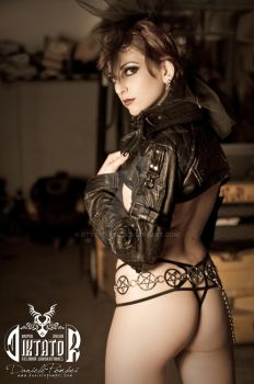 Diktator: Jacket and Thong by OttoMarzo