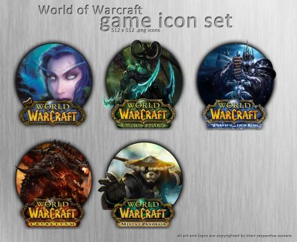 Wow Icon Set by XeoDon