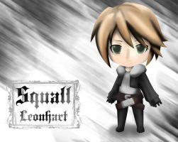 Squall Leonhart by CodeMiwa