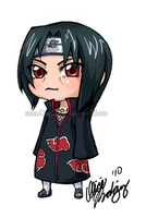 COMM: Itachi Uchiha by Silver-Solace