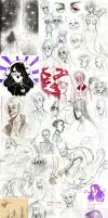 sketchdump #5 [traditional] by Nikaerin