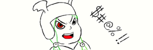 Daxq avatar doodle 2 by LoyalPuppet