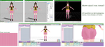 [PMXE] UV mapping problem [Solved] by MMD-Anime-Bunny