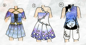 Outfit Adopts (1/3 OPEN) by Artistic-Mii-Adopts