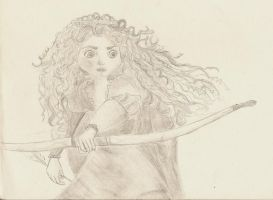Princess Merida by Akyra93