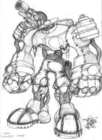 Chuck Texas Cyborg by AndrewDickman