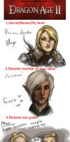 Dragon Age II Marian meme by DancinFox