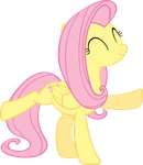 Dancing Fluttershy by MoongazePonies