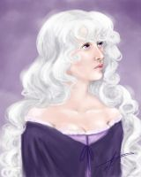 Lady Amalthea quick paint by MelodicMadness