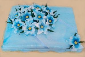Blue Magic Cake by 6eki