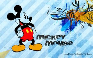 Mickey In Illusion by SmoothSqu4d