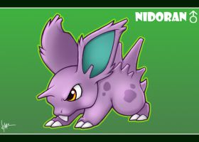 Nidoran Male by Nyaasu