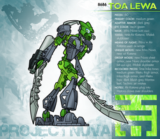 Project Nuva - Lewa Phantoka by ToaTiome