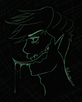 Antisepticeye - Animation in Process by PolarisDrawings