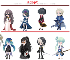 FREE Adoptables - Set 19 [CLOSED] by ReddAdopts