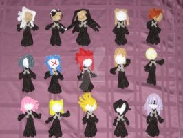 Organization XIII Dolls by bennitorimanga