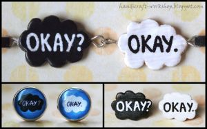 The Fault in Our Stars - jewellery set by Panna-Kot