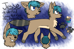 Jesse Ref Sheet by friendfry