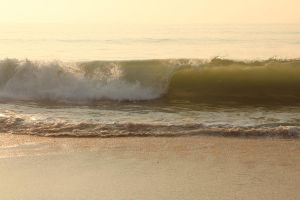 Ocean Waves I by Stock-Wulf
