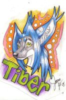 TIber Badge by Syberwolf