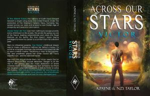 Book Cover - Across Our Stars - Victor by MirellaSantana