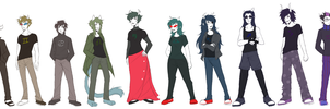 Lineup by PrincessHarumi