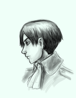 Snk: Levi by SirLadySketch