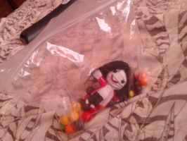 MJ String Doll: I Gots A Bag Of Candy :3 by Forever-MJ