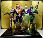 Kamen Rider Gaim Main Riders by Infinitevirtue