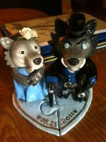 Worgen Cake Toppers by KurisuchinK