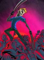 Billy the demon slayer by cold-blooded-angel