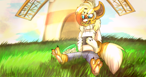 Windmill, Windmill for the land - Hannah by Choco-Floof