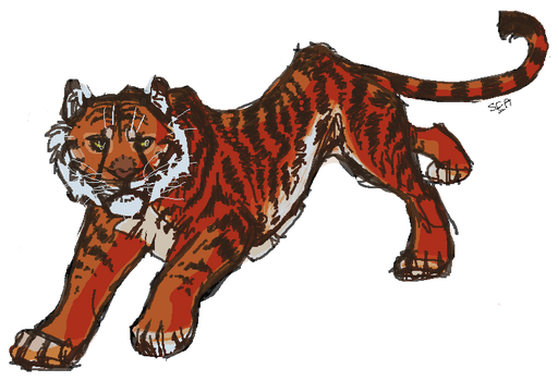 tiger by Darkstripe4ever