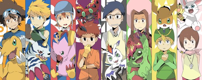 Digimon Adventure by seiryuuden