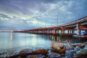 Morning of Penang Bridge by fighteden