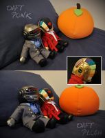 + Daft Plush + by hiyoko-chan