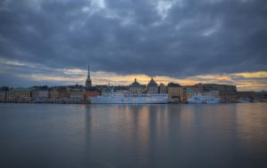 An Evening on Skeppsholmen VI by HenrikSundholm