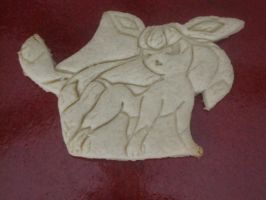Glaceon Cookie Baked by B2Squared