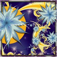 Moon Flowers by Mookiezoolook