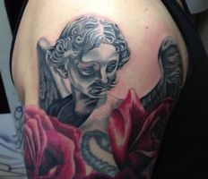 Ruslan Black And Grey And Color by HammersmithTattoo