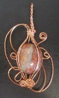 Copper Wire Wrap 2 by Mesopotamian
