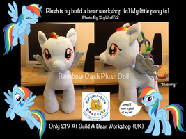 My Little Pony: Rainbow Dash Plush Doll by Chibi-Cola-SkyWolf62