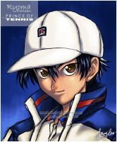 Ryoma Echizen - Close Up by battousairk