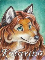 Katarina Real Media Badge by thornwolf