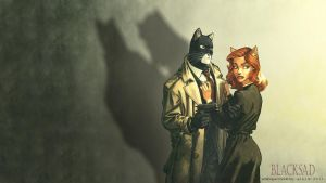 Blacksad Wallpaper by Elezar