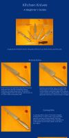 Kitchen Knives for Beginners by dACooking