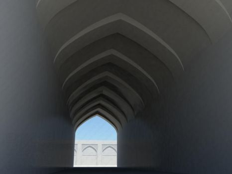 Arched corridor by vahidtoon