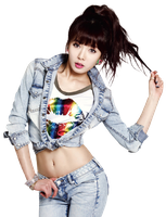 Hyuna (4Minute) PNG [Render] by GAJMEditions