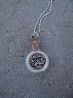 Old Man Winter Necklace by MaddieLea