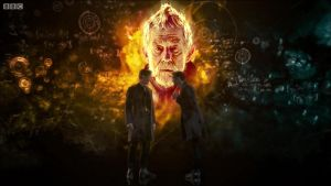 Revisiting Nightmare in Silver with the War Doctor by Hisi79